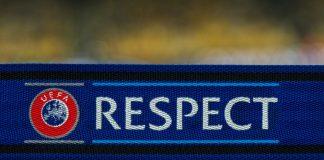 uefa logo respect rispetto fair play arbitro