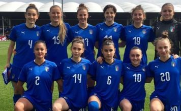 under 19 femminile calcio italia nazionale