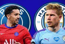 Champions semifinale Paris Saint-Germain Manchester City