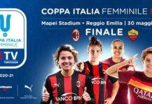 coppa italia femminile 2020-2021 logo finale