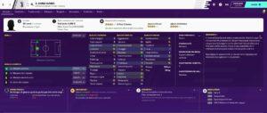 Sara Gama database Women On Football Manager